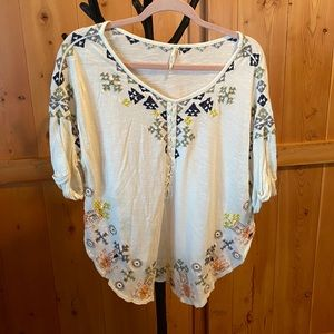 Free People size small women's blouse